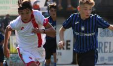 Christian Fogliaro (Monza) e Aldo Martano (Atalanta)