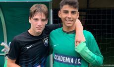 Manuel Brianti e Andrea Mastroianni, Accademia Inter Under 15