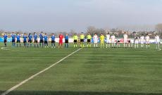 Novara - Pro Vercelli - Under 17 - Il saluto pre-gara