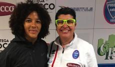 Eva Callipo con Sara Gama