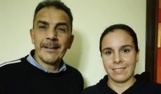 Ottorino Fenaroli, e sua figlia Charlene