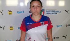 Eleonora Galli, tra le migliori in campo per l'Orobica.
