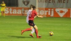 Eni Sulo con la maglia dell'Albania