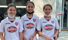 Emma Cortese, Francesca Romano e Alessia Scolamiero