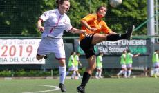 Gonnet-Lavarone in Torino Women-Independiente (foto Valletta)