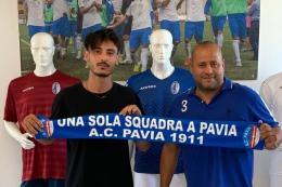 Pavia, finalmente ufficiale l'acquisto di Matteo Della Volpe
