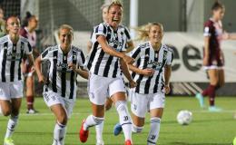 Juventus Women-Pomigliano: lo scorpione di Rosucci e la doppietta di Caruso danno i primi tre punti a Montemurro