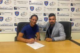 Sangiuliano City, Ferrario ha firmato: sarà lui a guidare l'attacco gialloverde nel prossimo campionato