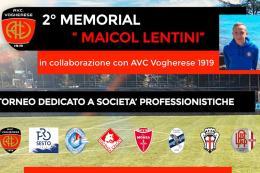 Memorial Maicol Lentini, da oggi sul campo della Vogherese la seconda edizione del torneo