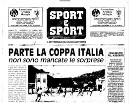 7 settembre 1993, il giornale più brutto di sempre andava in edicola. Era il primo numero di Sport e Sport