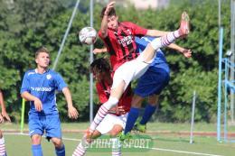 Como-Milan, gol e spettacolo al Lambrone di Erba: ecco la fotogallery del pareggio pirotecnico tra lariani e rossoneri