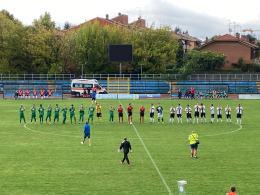 Folgore Caratese-Brianza Olginatese: nell'esordio in campionato Commisso vince nel segno di Caiazza e Troiano. Bianconeri spenti per un tempo, spreconi nell'altro