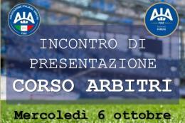 A Varese tutto pronto per il nuovo corso Arbitri