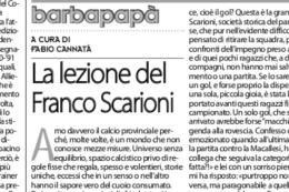 Scuola Calcio: Giù le mani dal Franco Scarioni (e dal lavoro delle società)