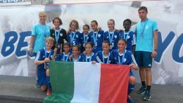 Danone Nations Cup, sesta posizione per l'Under 12 della Juve femminile