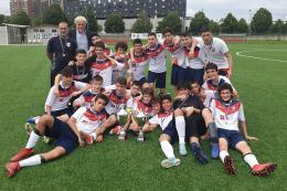 Schuster-Calvairate, sentenza Turato, i ragazzi di Nistri si laureano campioni!