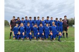 Giana - Como Under 15: partita combattuta, lariani vincitori