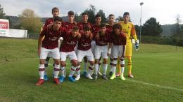 Brescia-Milan Under 15: Diavoletti in vetta solitaria, Bertuzzo maestro di calcio