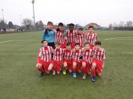 Caravaggio - Trevigliese Under 14: derby biancorosso nel segno di Corsetti