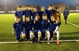Vertovese - Falco Under 17: give me five con Masneri, Nani, Palamini, Genuizzi e Sozzi!