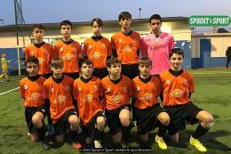 Borgaro - Ivrea Calcio Under 14: Sbarra ostacola il primato gialloblù