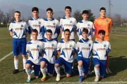 Ponte San Pietro-Villa Valle Under 16: Gol di Bassanello e Capizzi, tre punti importanti per i blues