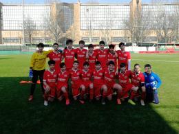 Cit Turin - Sg Chieri U14: Montini attaccante per un giorno