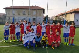 Amor Sportiva-Antoniana Pulcini 09: Il cecchino Basilico fa sorridere la squadra di Simone con una tripletta
