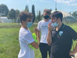 CG Bresso Under 14, il giovane tecnico Parozzi: «Nella vita vorrei allenare, sogno la Champions»