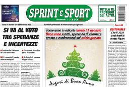 SprinteSport è in edicola: verso le elezioni, parlano i protagonisti. E poi calcio giocato sotto l'albero, approfondimenti, proposte e rubriche tutte da leggere per un numero speciale!