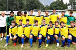 Sanmauro Under 16, il gruppo gialloblù di Giuseppe Cotroneo