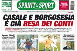 SprinteSport in edicola: Serie D, Borgosesia e Casale alla resa dei conti. Esonero insolito e scritte sui muri...