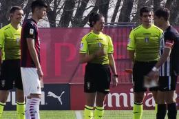 Milan-Ascoli Primavera 1: Nasti ed El Hilali firmano la vittoria per un Milan poco brillante