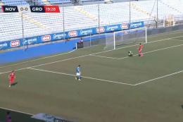 Novara-Grosseto Serie C: Lanini salva gli azzurri sul gong, partita ricca di occasioni per i piemontesi