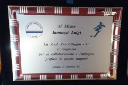 Luigi Iannuzzi saluta Varese: cambio di vita per l'allenatore che ha trasmesso il sogno del calcio ai bambini