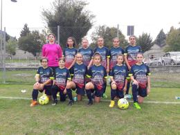 L'Under 15 Femminile dell'Aosta511: le giovanissime calciatrici di Wildo Ghidoni