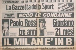Crudelizia: dal Totonero a Passaportopoli, le malefatte del calcio italiano