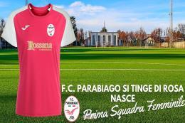F.C. Parabiago, al via il nuovo progetto con il calcio femminile. Il DG Giovanni Sala: «Progetto di cui siamo orgogliosi e che ci permette di coltivare i nostri talenti»
