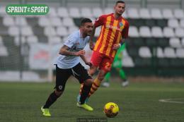Albinoleffe-Pro Vercelli Serie C: Rolando Eugio implacabile, non basta Manconi