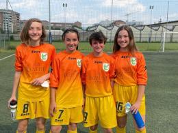 Accademia Torino-Cit Turin Under 12: le granata del capitano Sofia Soma combattono ma la spunta la squadra del tecnico Sanseverino