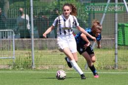Juventus-Genoa Under 15 Femminile: sblocca subito Xhumaqi di scaltrezza, poi è Santarella show