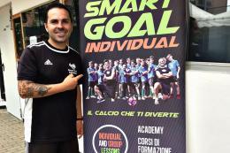 """Elia Fanelli e l'innovativo metodo """"Smart Goal"""": l'allenatore racconta la sua scuola di tecnica individuale ad alta tecnologia"""