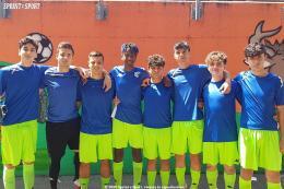 All Stars Under 16: Tucci tripleggia, Cipullo pennella, Brocci-Bombieri la B&B di Grugliasco