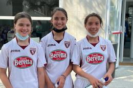 Accademia Torino-Torino Under 12 Femminile: le instancabili Scolamiero e Cortese trascinano le granata di Borzoni