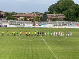 Sant'Angelo-Club Milano Eccellenza: espulsi Cicciù e Scetti, ma i rossoneri stringono i denti e strappano un pareggio