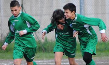 Esultanza Scuola Calcio