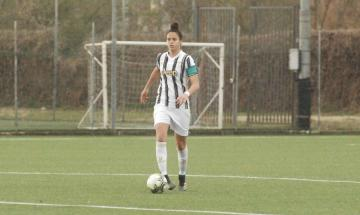 Capitan Sara Caiazzo della Juventus verso le final four