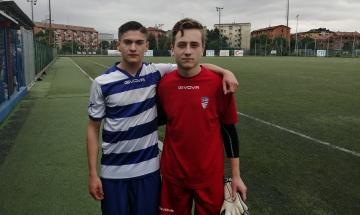 Federico Renda e Mattia Giudice, Pro Patria