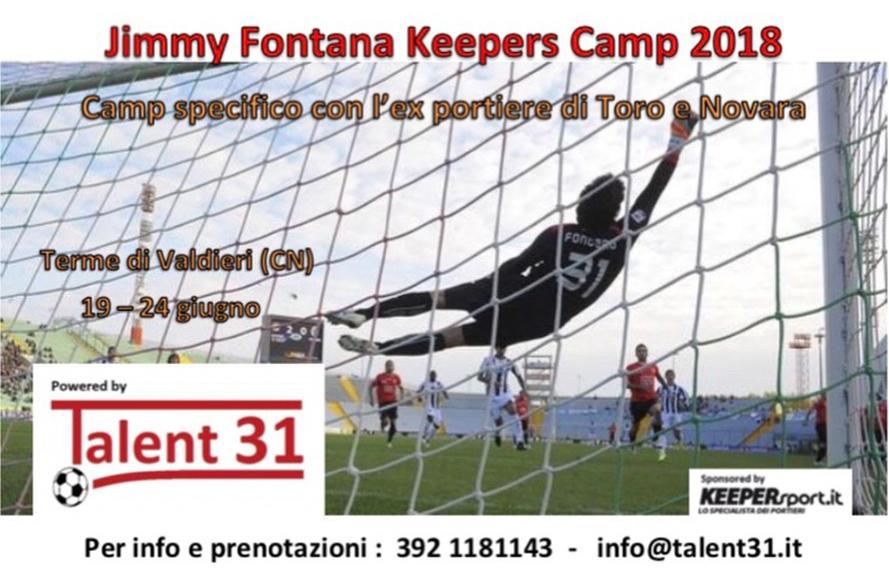 Jimmy Fontana - Keeper Camp 2018