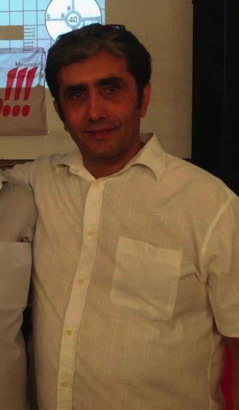 Giampiero Pitzalis, presidente de La Chivasso